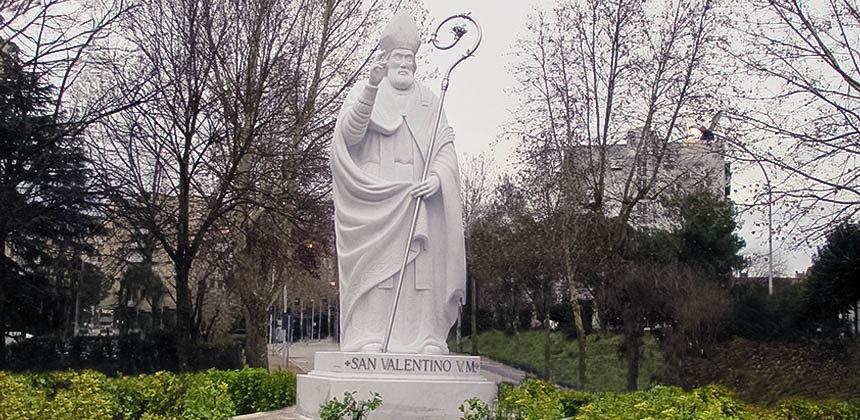 Statua San Valentino